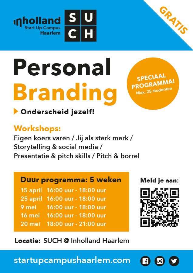 Eerste programma Personal Branding van start